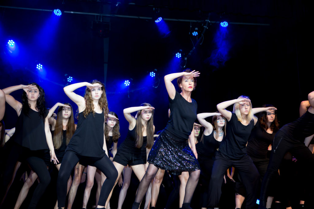 Tanzaufführung 2015